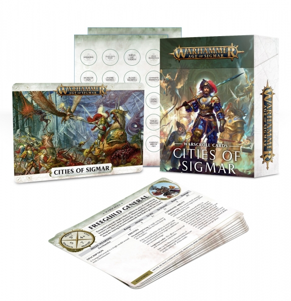 Age of Sigmar: Warscroll Cards - Cities of Sigmar