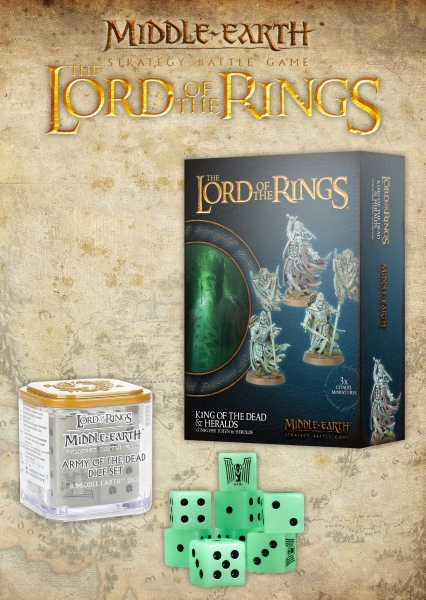 Lord of the Rings: Army of the Dead Dice Set