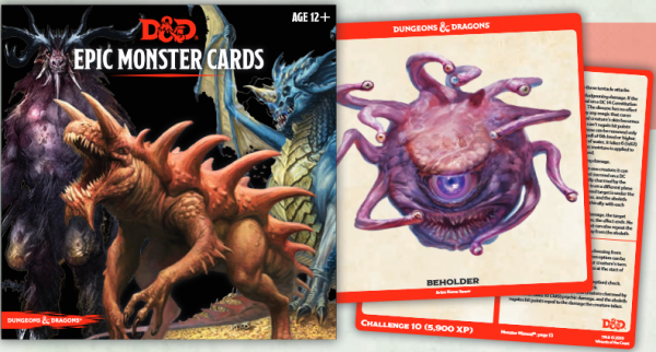 D&D: Epic Monster Cards (77 cards)