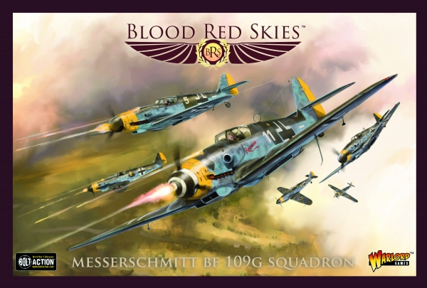 Blood Red Skies: Messerschmitt Bf 109G Squadron