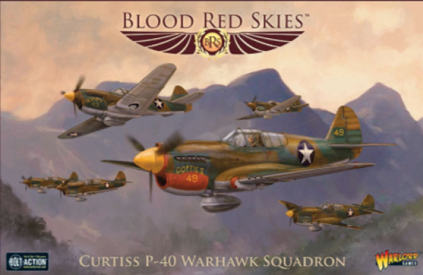 Blood Red Skies: Curtiss P-40 Warhawk Squadron