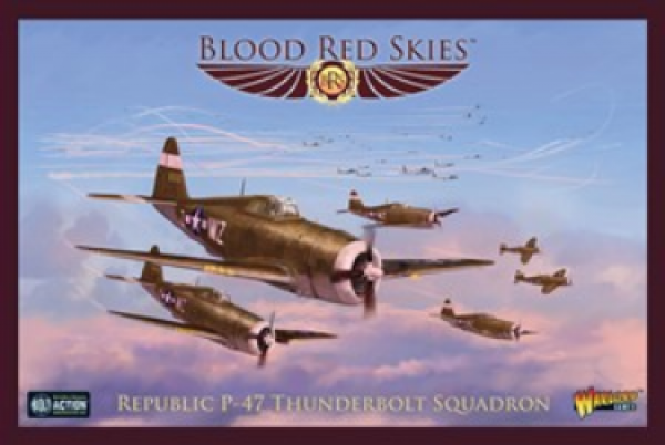 Blood Red Skies: Republic P-47 Thunderbolt Squadron