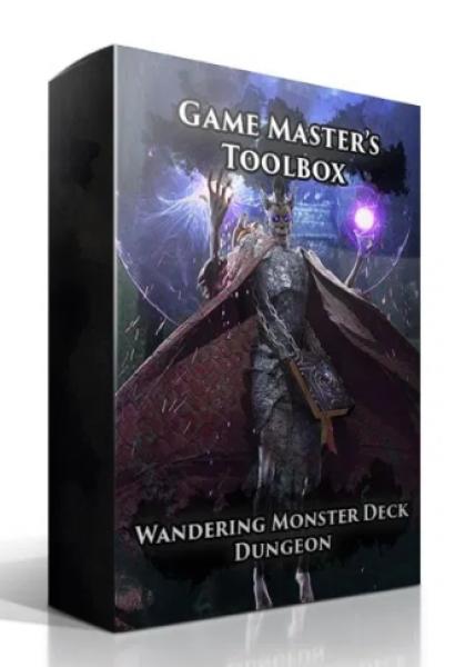 Wandering Monster Deck: Dungeon (5E)