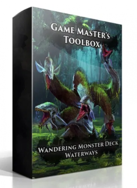 Wandering Monster Deck: Waterways (5E)