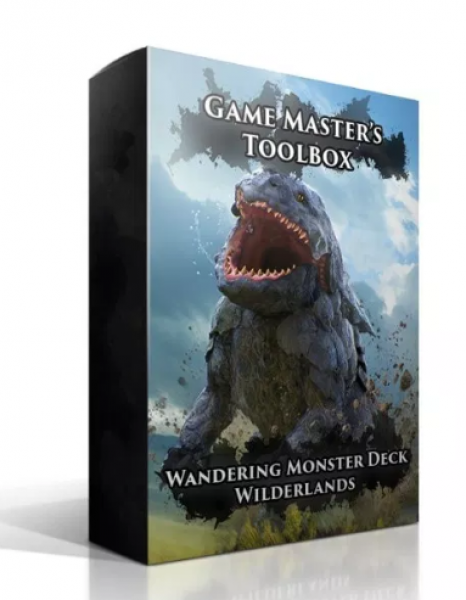Wandering Monster Deck: Wilderlands (5E)