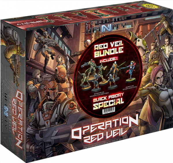 Infinity: Black Friday 2019 Special (Operation Red Veil + Beyond Red Veil + Jeanne D'Arc 2.0)