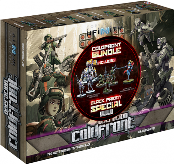 Infinity: Black Friday 2019 Special (Operation Coldfront + Beyond Coldfront + Jeanne D'Arc 2.0)