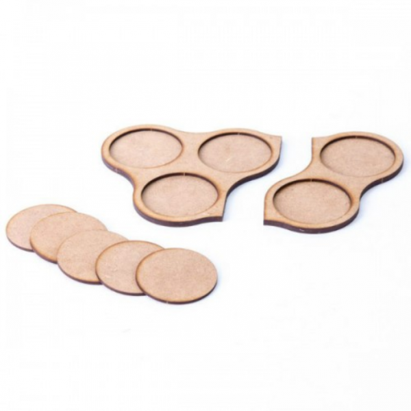 Game Accessory: 60mm Movement Tray Pack