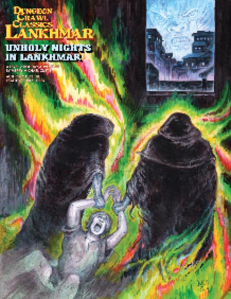 Dungeon Crawl Classics RPG: (Adventure) Lankhmar #10 -Unholy Nights in Lankhmar