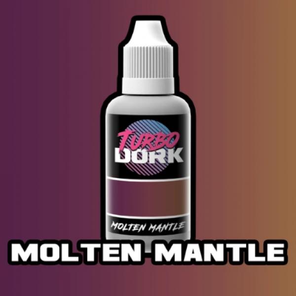 Turbo Dork Paints: Colorshift Acrylic - Molten Mantle (20 ml)