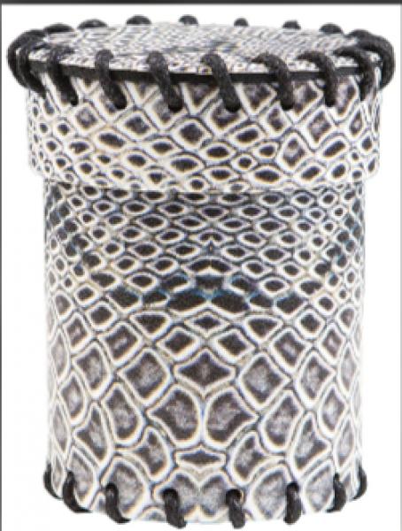 Dice Cup: Dragonhide Laminated
