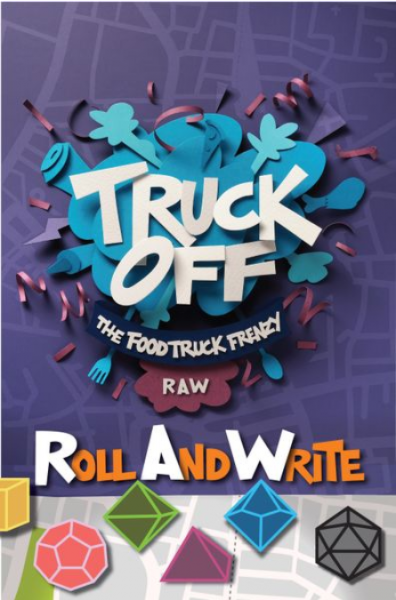 Truck Off: The Food Truck Frenzy Roll & Write