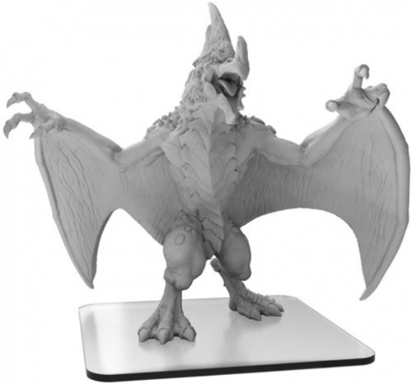 Monsterpocalypse:  Pteradax – Terrasaurs Monster (1) (metal/resin)