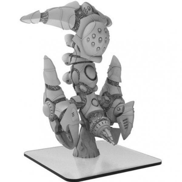 Monsterpocalypse: Tharsis-5 – Martian Menace Monster (1) (metal/resin)