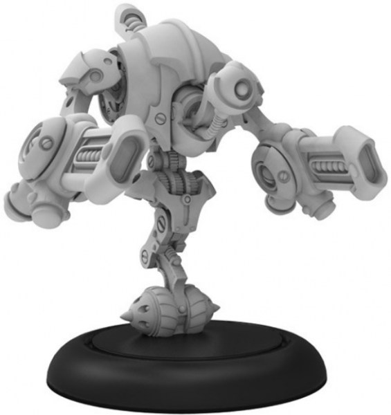 Riot Quest:  Destructotron – Riot Quest Gunner (1) (metal/resin)