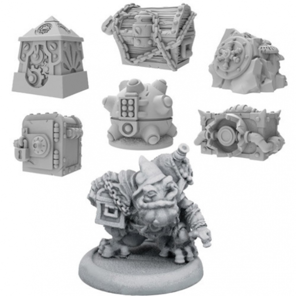 Riot Quest: Treasure Pack & Flugwug the Filcher – Treasure Chest Expansion (metal/resin)