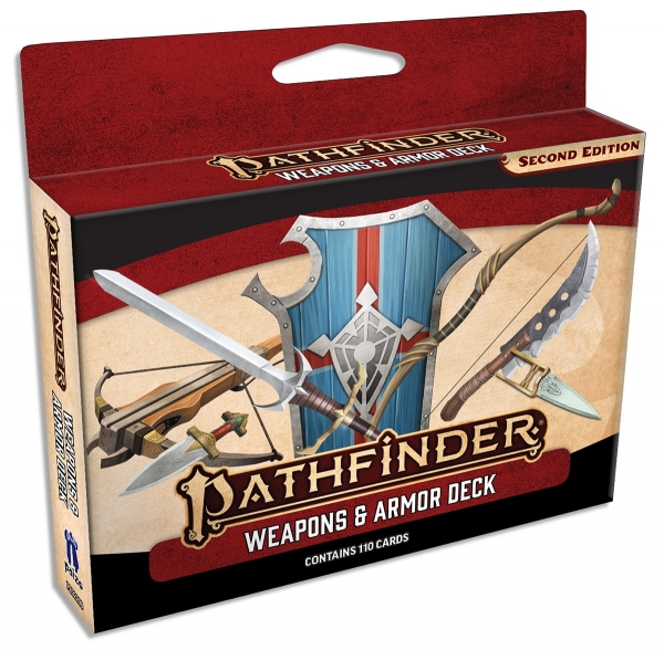 Pathfinder (P2): Weapons & Armor Deck (Accessory)