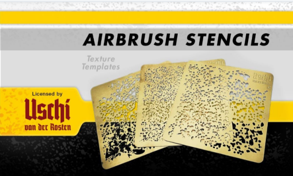 AMMO: Paint Accessory - AIRBRUSH STENCILS