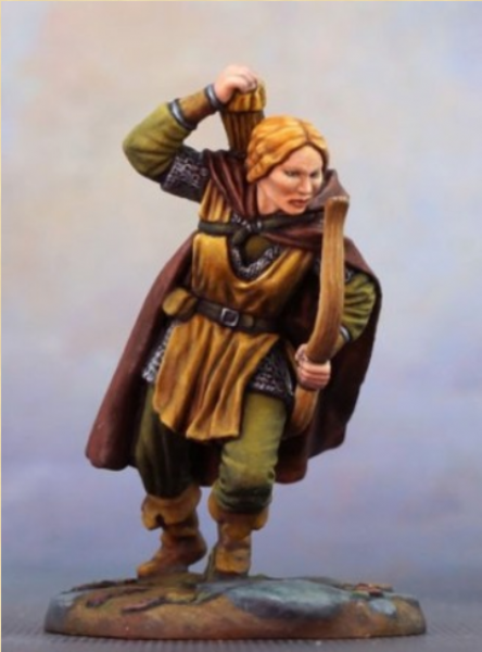 Visions In Fantasy: Female Ranger with Bow (2019)