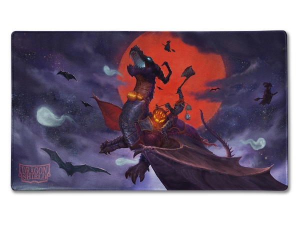 Dragon Shield Sleeves: ''Halloween Dragon'' Art, Limited Edition Playmat