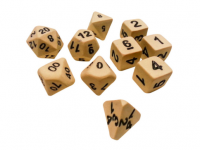 Ceramic Dice: Skeleton Extended Set