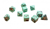 Ceramic Dice: Dark Castle Extended Set