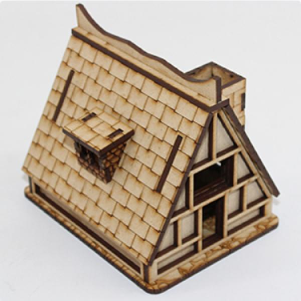Laser Craft Workshop MDF Terrain: Mossan Household