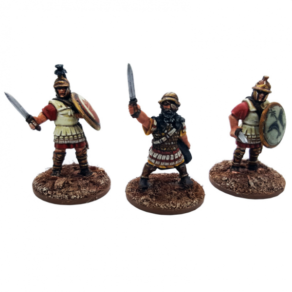 28mm Ancients: Hannibal and Officers