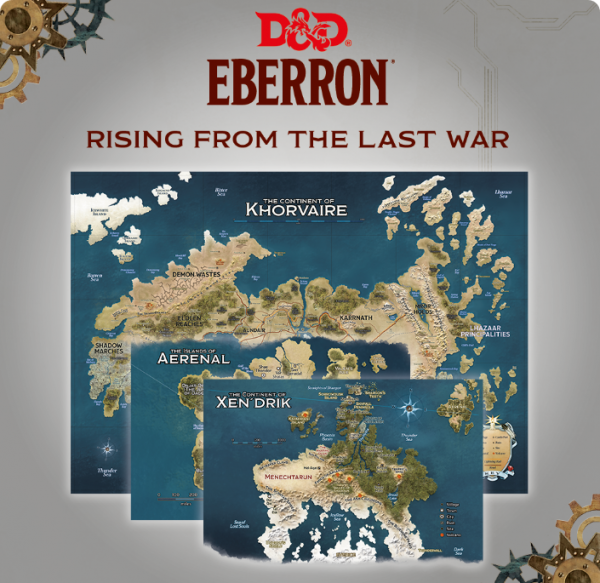Dungeons & Dragons: Eberron Map Set - Nations of Khorvaire