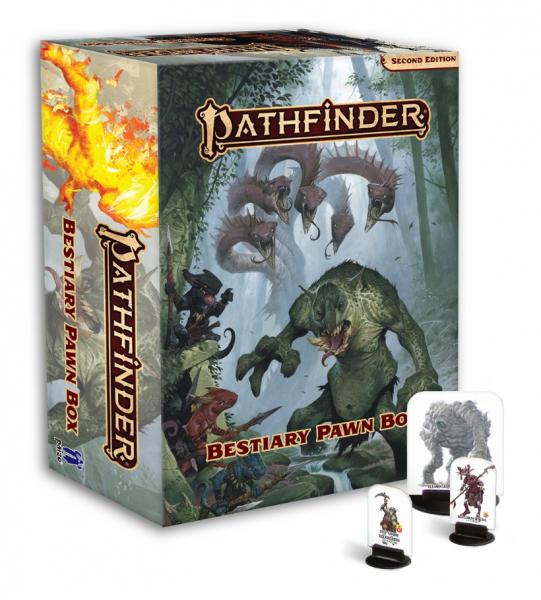 Pathfinder Pawns: Pathfinder Bestiary Pawn Box (P2)