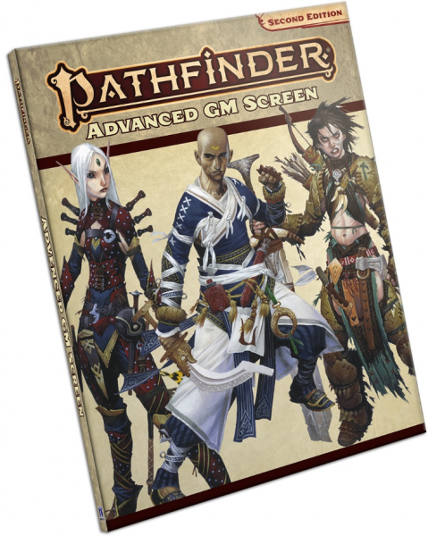 Pathfinder (P2): Advanced GM Screen (Accessory)