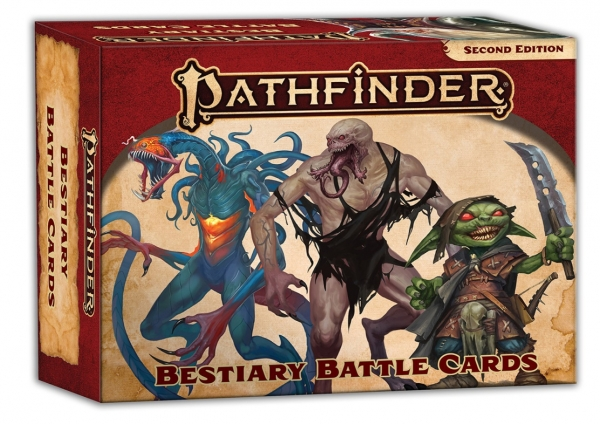 Pathfinder (P2): Bestiary Battle Cards (Accessory)