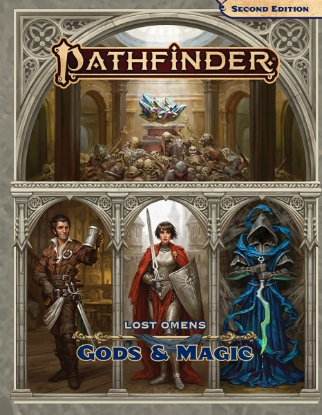 Pathfinder (P2): Pathfinder Lost Omens Gods & Magic