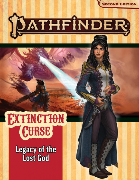 Pathfinder (P2): Pathfinder Adventure Path - Legacy of the Lost God (Extinction Curse 2 of 6)