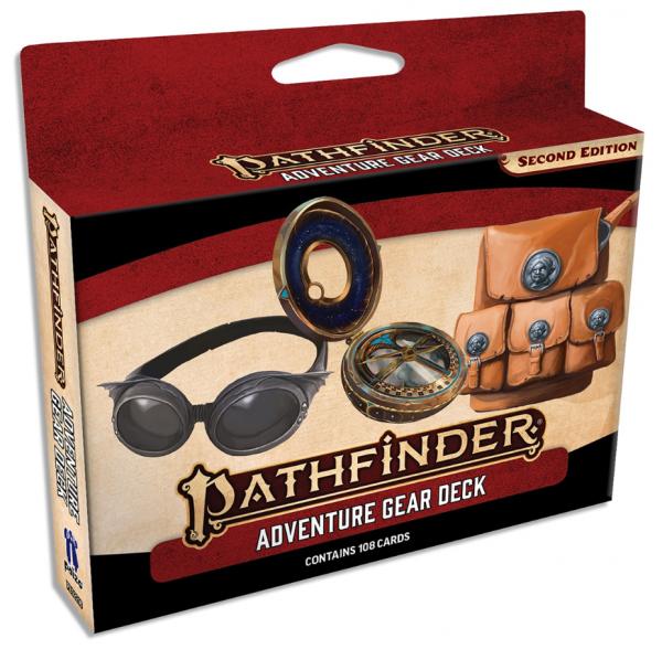 Pathfinder (P2): Adventure Gear Deck (Accessory)