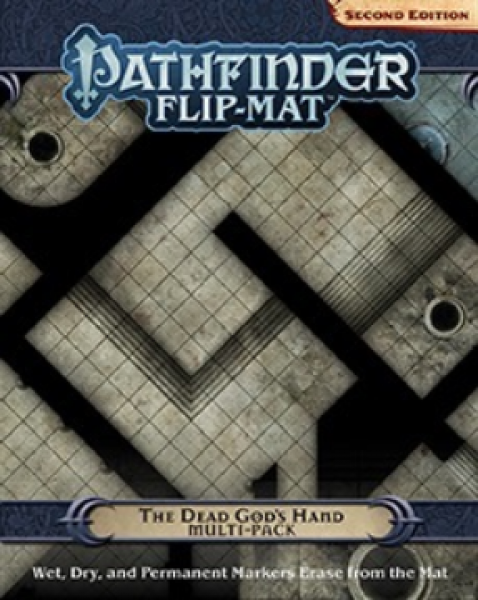 Pathfinder RPG: (Flip-Mat) The Dead God's Hand Multi-Pack