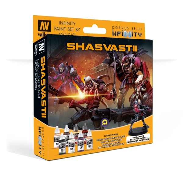 Infinity Paint Set: Combined Army (Shasvastii) (w/Exclusive Miniature)