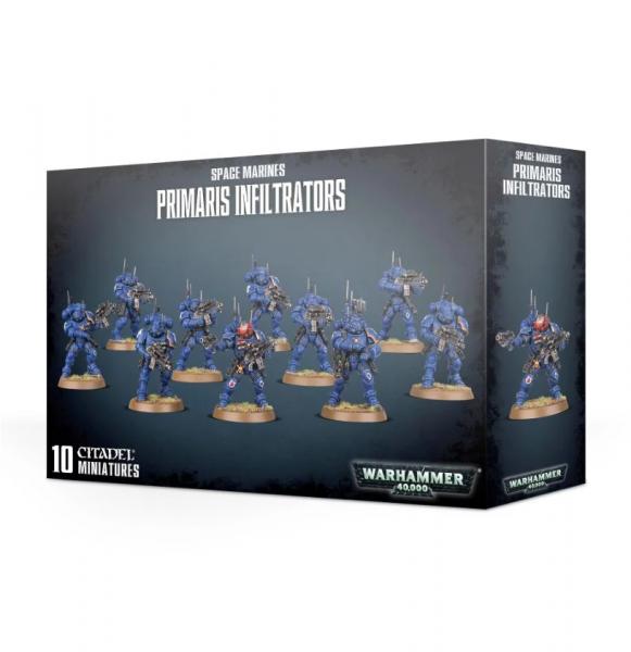 Warhammer 40K: Space Marines - Primaris Infiltrators
