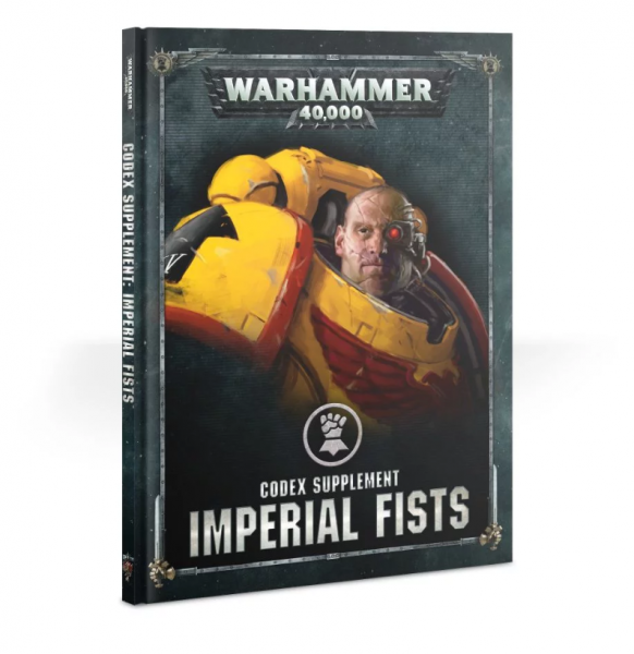 Warhammer 40K: Imperial Fists Codex