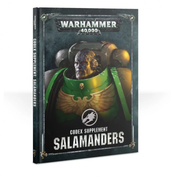 Warhammer 40K: Salamanders Codex