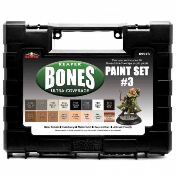 Reaper Master Series: Bones Ultra-Coverage Set #3