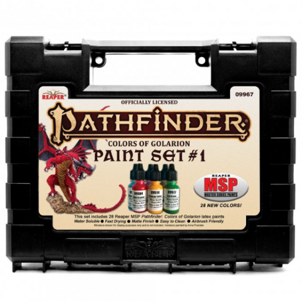 Reaper Master Series: Pathfinder Colors of Golarion - Paint Set #1