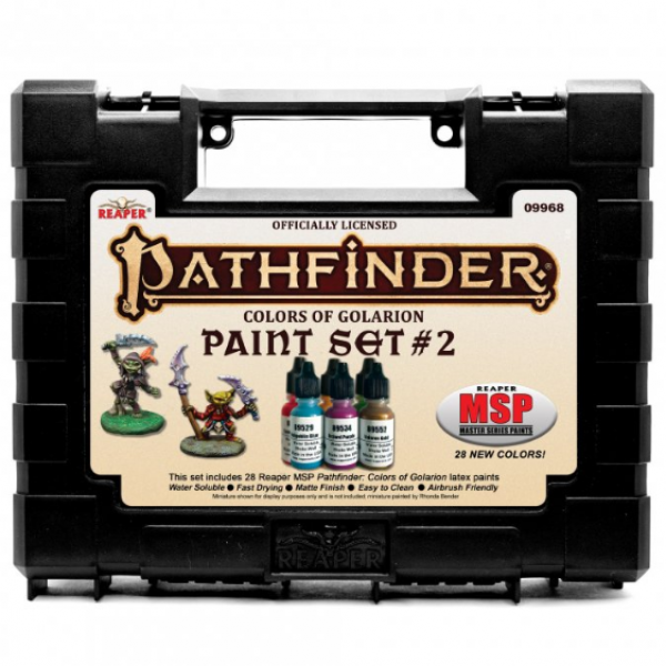 Reaper Master Series: Pathfinder Colors of Golarion - Paint Set #2