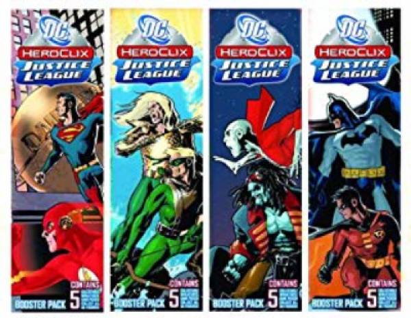 DC HeroClix: Justice League Unlimited Booster Pack (1)