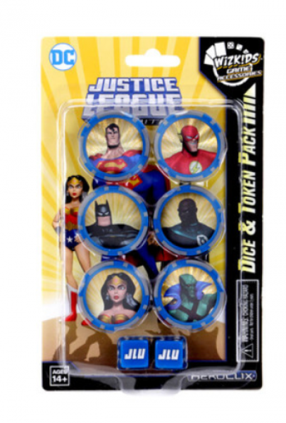 DC HeroClix: Justice League Unlimited Dice and Token Set