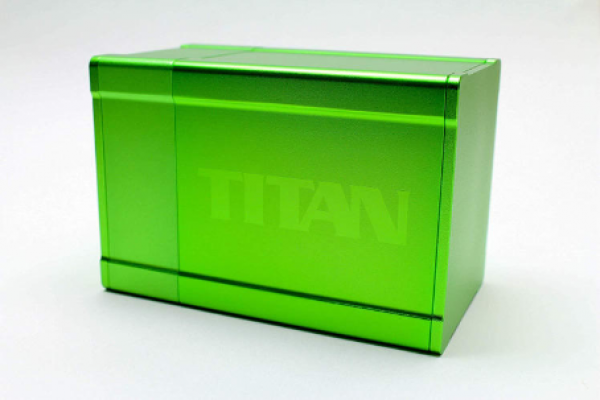 Titan Deck Box (2nd Edition) (Solid Green)