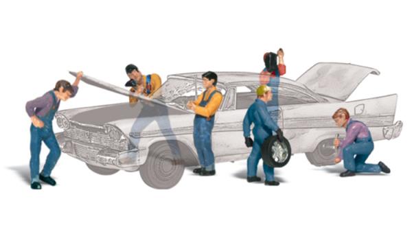 Woodland Scenics Fences: HO Auto Mechanics