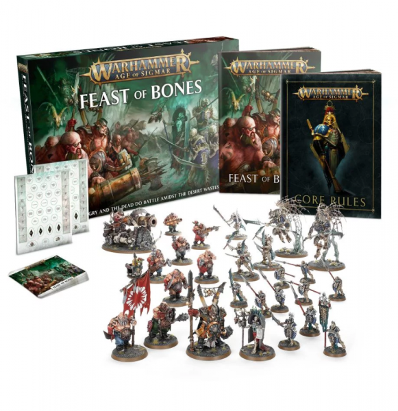Age of Sigmar: Feast of Bones Core Game (Limited)
