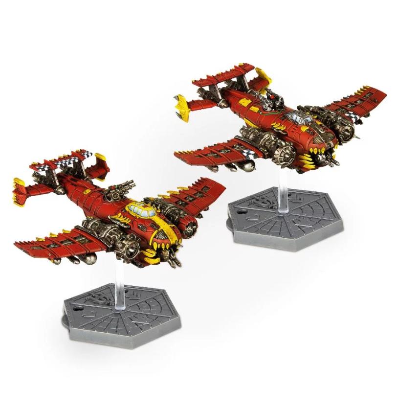 Aeronautica Imperialis: Ork Air Waaagh! 'Eavy Bommers