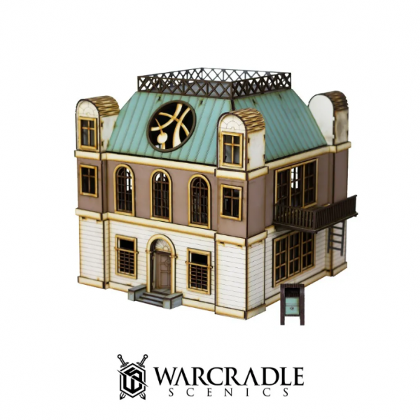 Warcradle Scenics: Super City - Mystic Mansion